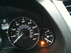 Empty Gas Gauge